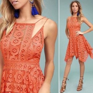 NWT Free People Just Like Honey Lace Dress 10